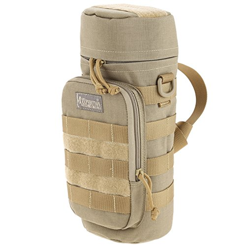 51AV8hkZlIL. SS500  - Maxpedition Hard-Use Gear Unisex's 9006281-SSI Bottle Holder, Khaki, 12 x 5-Inch