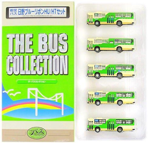ニューホビー トミーテック バスコレクション(N006-N010) 都営バス 日野ブルーリボン HU/HT 5台セットの商品画像