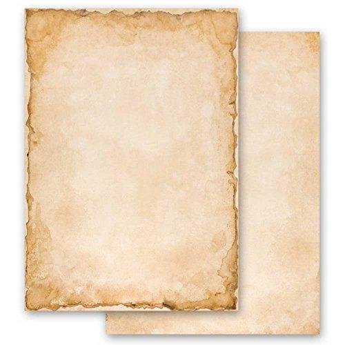 200-tlg. Briefpapier Briefpapier Briefpapier Komplett-Set VINTAGE 100 Blatt Briefpapier  100 passende Briefumschläge DIN LANG mit Fenster B071RSQGFS | Moderne Technologie  2884c1