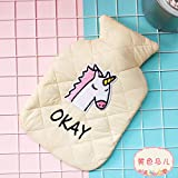 horse hot water bottle - South Korea Cute Plush Watering Hot Water Bottle Warm House Can Be Washed And Washed Large Warm Hand Po Po Safe Warm Handbag White horse