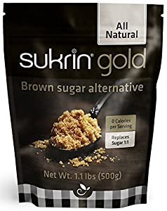 Sukrin Gold - The Natural Brown Sugar Alternative - 1.1 lb Bag