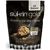 Sukrin Gold - The Natural Brown Sugar Alternative - 1.1 lb Bag (Pack of 2)