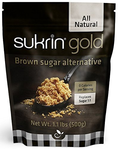 Sukrin Gold - The Natural Brown Sugar Alternative - 1.1 lb Bag (Pack of 3) by Sukrin (Image #3)