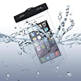 Waterproof Case Transparent Bag Cover Cover Pouch with Touch Screen for Motorola Droid Turbo 2, Moto Z Droid, Force - Samsung Galaxy J3, J5, J7, Note 3 4 5, Edge, S5, S6, Edge, Edge+, S7, Edge