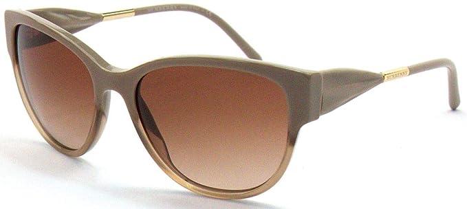 Burberry BE4190, Gafas de Sol para Mujer, Marrón (Dark Beige ...