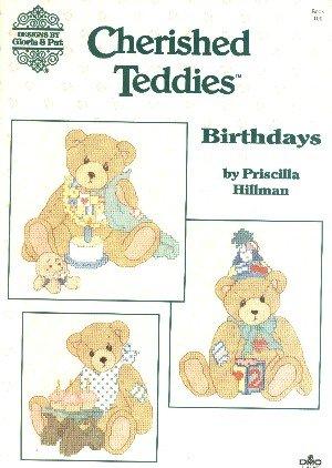 Priscilla/'s Precious Bears Book 66 Counted Cross Stitch Book Gloria /& Pat Priscilla Hillman ca 1990