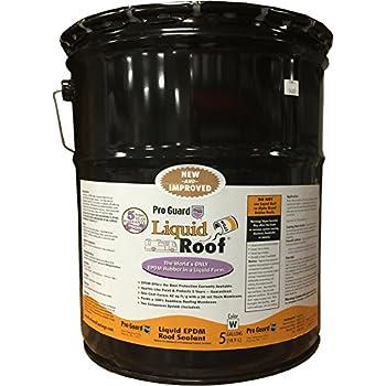 Amazon Com Liquid Roof Rv Roof Repair Liquid Epdm