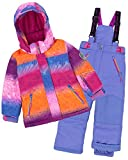 Deux par Deux Girls' 2-Piece Snowsuit Snow Sunset Blue, Sizes 4-14 - 7