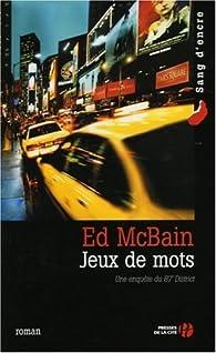 Jeux de mots par Ed McBain