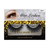 """4 Pairs"" Miss Lash 100% Handmade Tapered 3D Volume lash M317"
