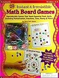 25 Math Board Games, Mary Beth Spann, 0590282123