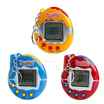 Mini 90S 49 Pets in 1 Virtual Cyber Pet Tamagotchi Tiny Retro Game Boys &; Girls Unisex Children Toy Gifts: Toys & Games