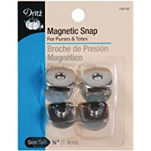 """Dritz Magnetic Snap - Square - Nickel - 3/4"""""""