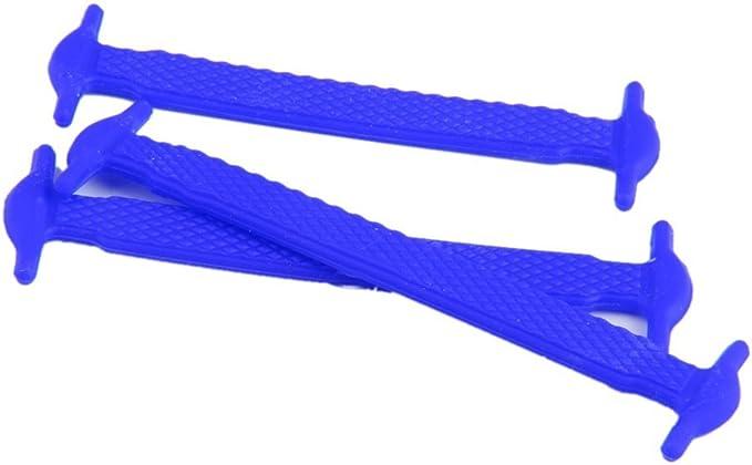5Five Lot de 12/pi/èces de lacets /élastiques sans n/œud en silicone pour enfants