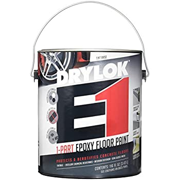 Drylok Concrete Floor Paint 1 Gallon Gull House Paint