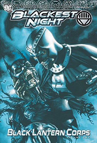 Lantern Black English - Blackest Night: Black Lantern Corps Vol. 1