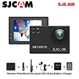 SJCAM SJ6 AIR Action Sports Camera Full HD 1080P 166°Wide Angle Waterproof Action Cam Sports DV Camcorder, Black Action Cameras SJCAM