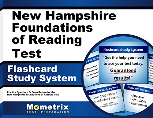 New Hampshire Foundations of Reading Test Flashcard Study System: Practice Questions & Exam Review for the New Hampshire Foundations of Reading Test (Cards)
