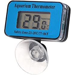 Veroda Mini Digital LCD Thermometer Fish Tank Water Aquarium Submersible Waterproof