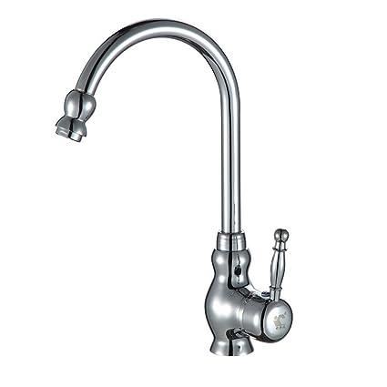 YSRBath Contemporary Kitchen Sink Mixer Monobloc Tap Hot and Cold ...