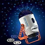 Discovery Kids Projector – A Wonderful Planetarium for Children with Rotating Stars and 32 space imagery slides