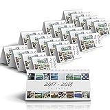 16-Month Desk Calendar featuring Warwick Bethel (September 2017 - December 2018) - 20-pack