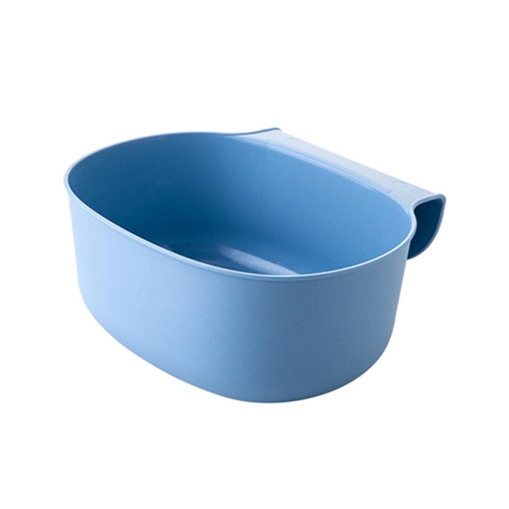 Deylaying 2Pcs Poubelles 2 L Collecteur D/échets /à Accrocher Corbeille Bacs /à ordures de cuisine armoires