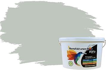 Ryfo Colors Bunte Wandfarbe Manufakturweiß Graugrün 10l Weitere