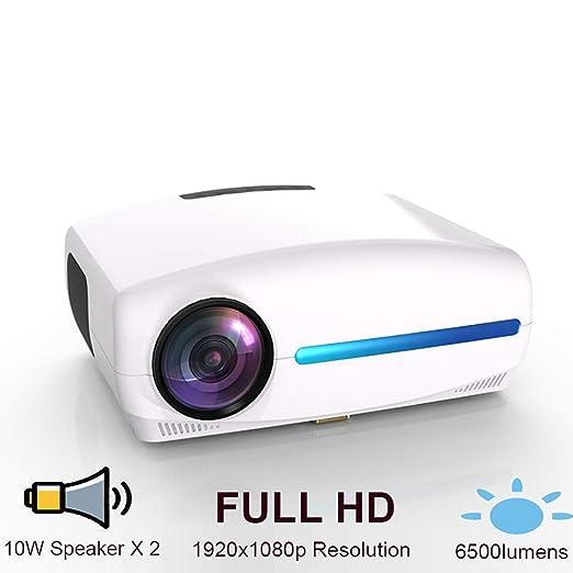 AI LIFE Video proyector Proyector de Cine en casa con LCD de ...