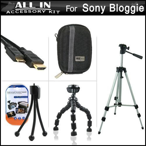 All In Accessories Bundle Kit For Sony Bloggie Live , Sony B