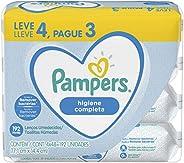 Lenços Umedecidos Pampers Higiene Completa - 192 lenços