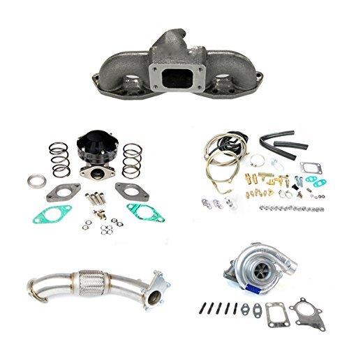 Rev9Power S13 S14 S15 Silvia Sr20 Sr20det T3/t4 T3t4 Top Mount Turbo Kit 350hp & ()