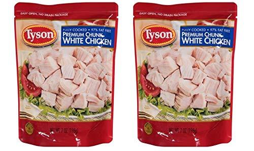 Tyson Premium Chunk White Chicken Breast, 7 oz (Pack of 2)