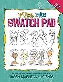 Fun Fab Swatch Pad: Fun color swatching templates