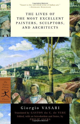 Book cover for Lives of the Most Excellent Painters, Sculptors, and Architects