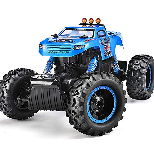 - Remote Control Trucks Monster RC Car 1: 12 Scale Off Road Vehicle 2.4Ghz Radio Remote Control Car 4WD High Speed Racing All Terrain Climbing Car Gift for Boys