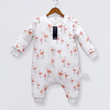 El Bebé Se Puede Dividir En El Otoño Del Saco De Dormir De La Pierna Y