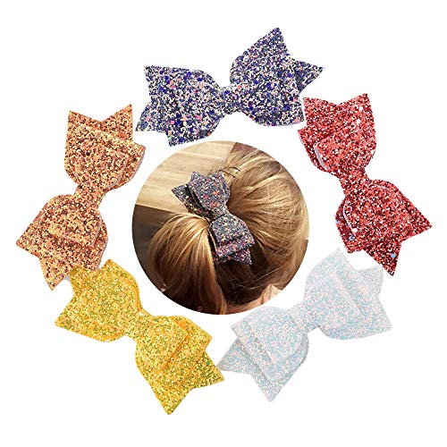Buy Hair Pins Online Shop,Ketteb 5PCS Hair Barrettes For Girls Child Accessories Hairpin New Sequins Hair Clips C