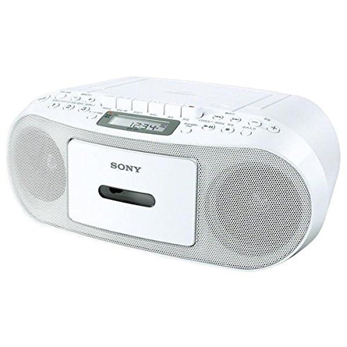 [해외] 소니 CD 라디오 카세트 CFD-S51/W
