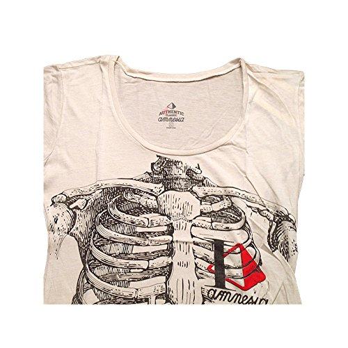 Blanc Ibiza Femme shirt Squelette T Amnesia 8gBwqw