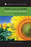 img - for When Less is More: Visualizing Basic Inequalities (Dolciani Mathematical Expositions) book / textbook / text book