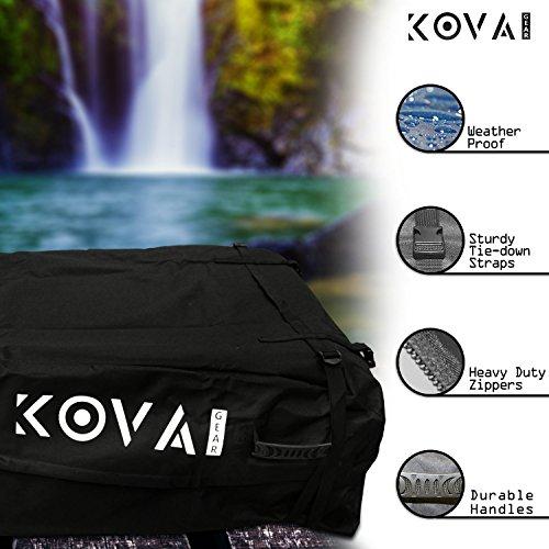 Kova Gear Rooftop Cargo Carrier Weatherproof Soft Bag (14.5 Cubic Ft Storage) by Kova Gear (Image #1)