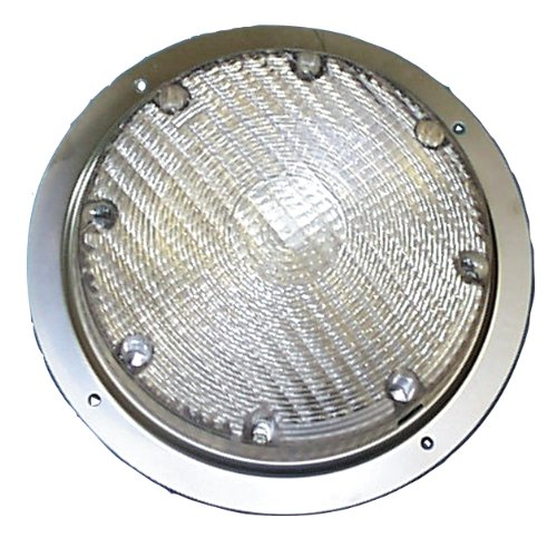 (Arcon 20671 Bright White LED Scare Light with Clear Lens)