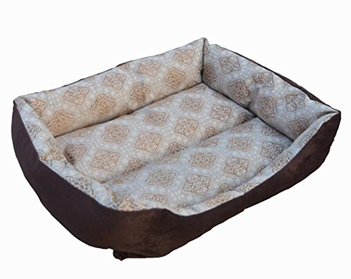 KTROMAN Dog CAT Bed, Dog Beds Dogs Kennels Waterproof Dogs Bed Fit Medium Sized Dog Cat Anti-bite soft Bed Kennels (M) 70 x 50 x 14cm by KTROMAN (Image #1)