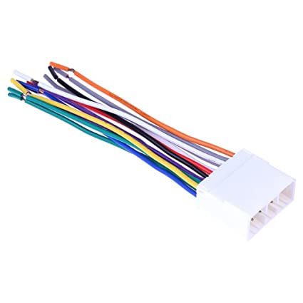 Amazon com: Stereo CD Player Radio Wiring Harness 14Pin Wire