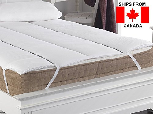 True North Textiles Magnetic Therapy Mattress Topper - Made in Britain (Double) by True North Textiles