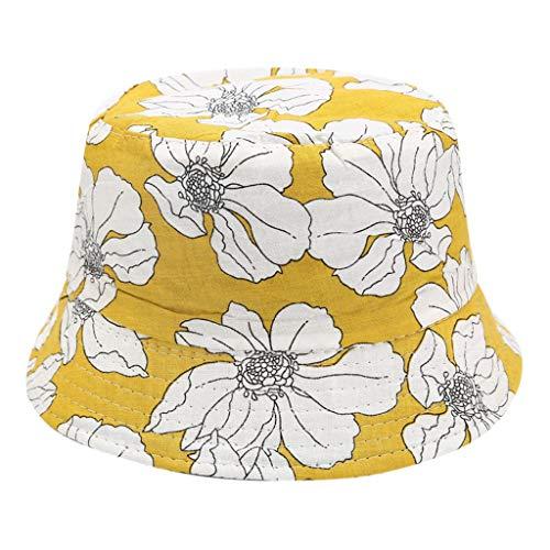 hositor Sun Hats for Women, Unisex Bob Cap Hip Hop Outdoor Sports Summer Ladies Beach Sun Fishing Bucket Hat -