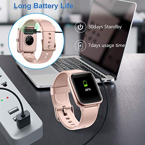 Willful Smart Watch for Android Phones and iOS Phones Compatible iPhone Samsung, IP68 Swimming Waterproof Smartwatch… 6