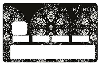 Carte De Paiement Black.Stickers Cb Decoratif Pour Carte Bancaire Infinite Black Amazon