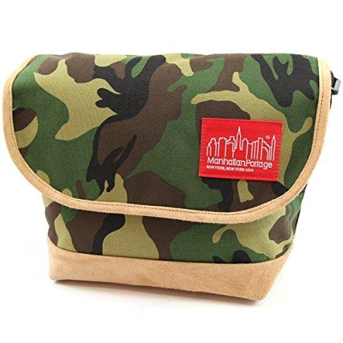 マンハッタンポーテージ(Manhattan Portage) Suede Fabric Casual Messenger Bag B074743STH WCM **